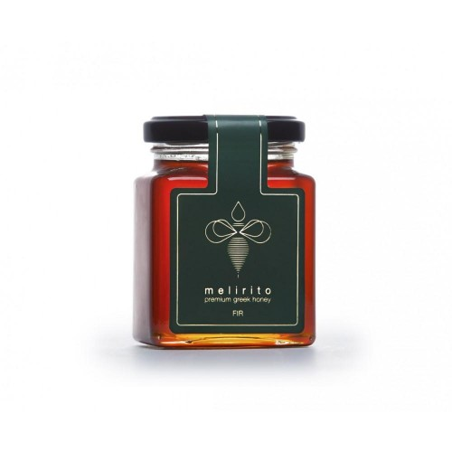 Melirito Forest Honey from the wild flora of the forest of Olympus 250gr. 100% Pure Greek Honey