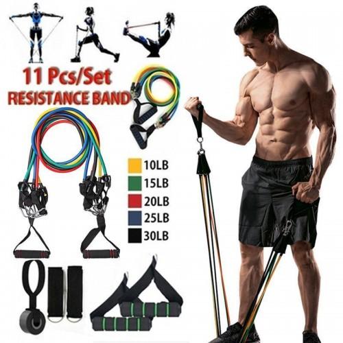 11pcs Fitness Rope Set